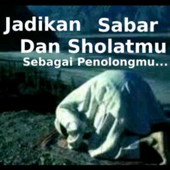 Image result for shalat dan sabar